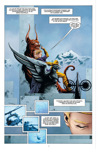 Page 8 before watchmen DC Deluxe - Ozymandias
