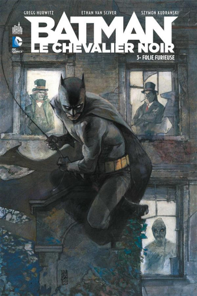 Couverture Batman le chevalier noir tome 3