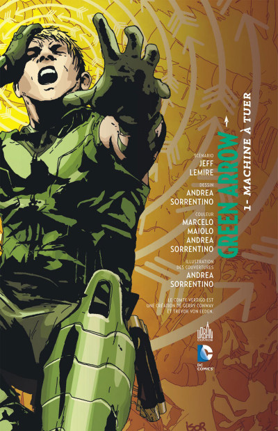 Page 3 Green arrow  tome 1
