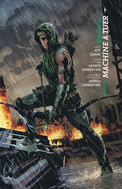 Page 4 Green arrow  tome 1