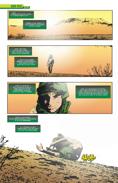 Page 5 Green arrow  tome 1