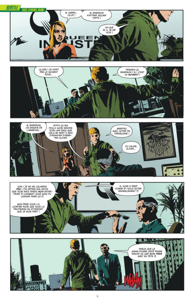 Page 6 Green arrow  tome 1