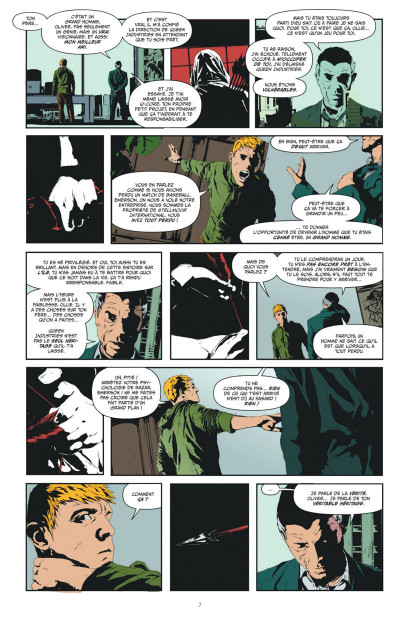 Page 7 Green arrow  tome 1