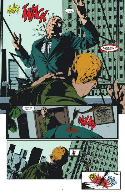Page 8 Green arrow  tome 1
