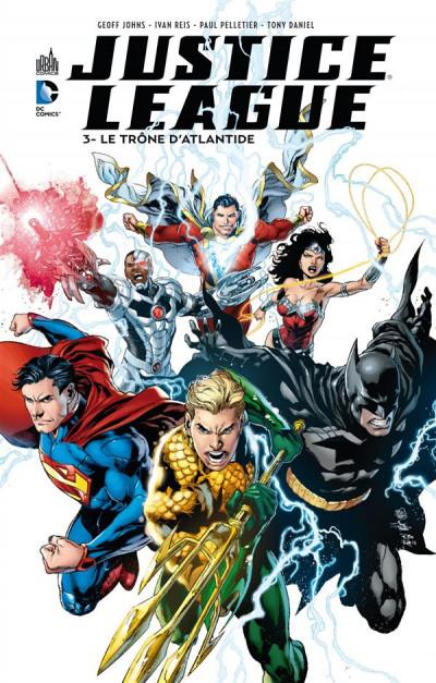 Couverture Justice league tome 3