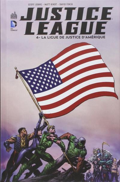Couverture Justice league tome 4