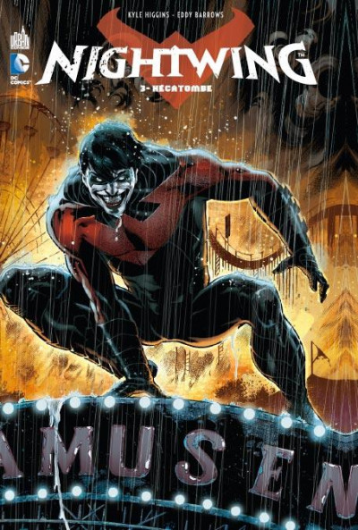 Couverture Nightwing tome 3