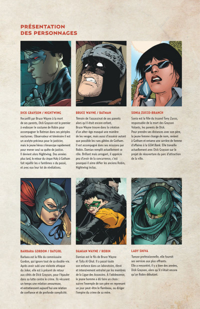 Page 5 Nightwing tome 3