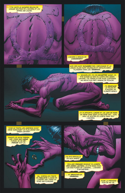 Page 7 Geoff Johns Présente Green Lantern tome 4