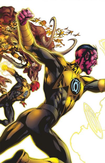 Page 2 Geoff Johns présente Green Lantern tome 5 - la guerre de Sinestro tome 2