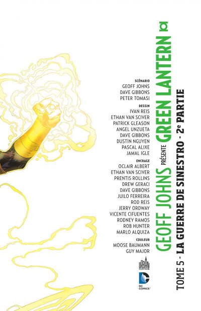 Page 3 Geoff Johns présente Green Lantern tome 5 - la guerre de Sinestro tome 2