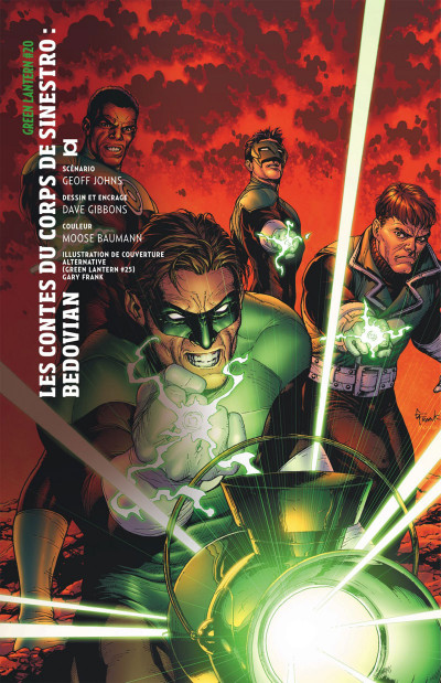 Page 6 Geoff Johns présente Green Lantern tome 5 - la guerre de Sinestro tome 2