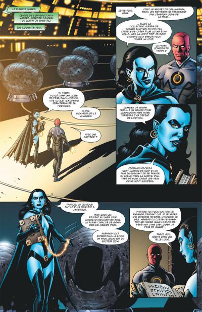 Page 7 Geoff Johns présente Green Lantern tome 5 - la guerre de Sinestro tome 2
