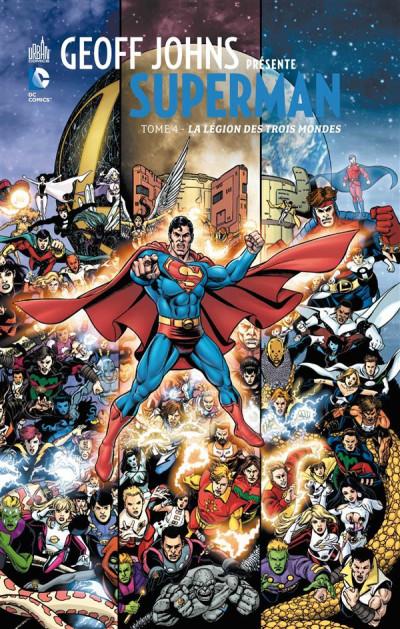 Couverture Geoff Johns présente Superman tome 4