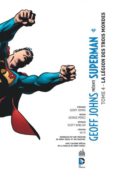 Page 3 Geoff Johns présente Superman tome 4