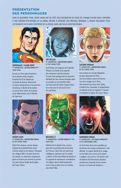 Page 5 Geoff Johns présente Superman tome 4
