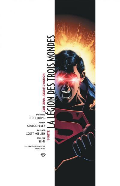 Page 6 Geoff Johns présente Superman tome 4