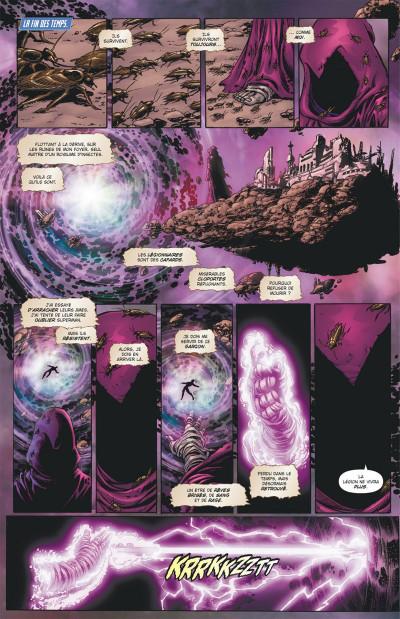 Page 7 Geoff Johns présente Superman tome 4