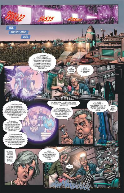 Page 8 Geoff Johns présente Superman tome 4