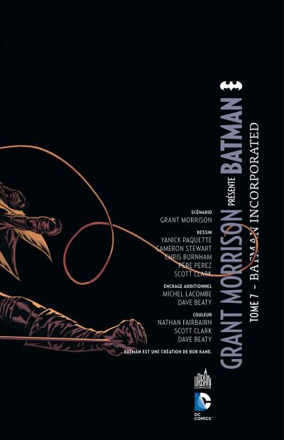 Page 3 Grant Morrison Présente Batman tome 7