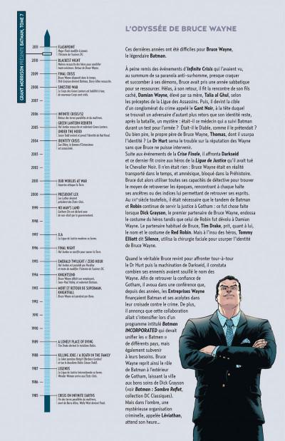 Page 4 Grant Morrison Présente Batman tome 7