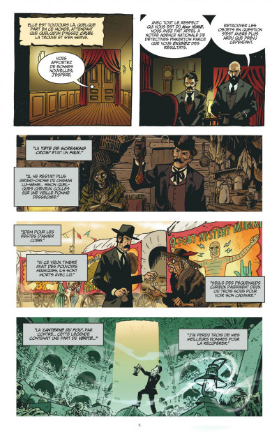 Page 6 the sixth gun tome 1