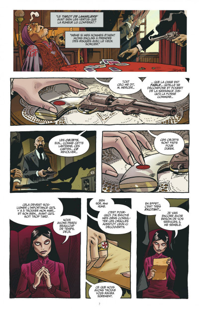 Page 7 the sixth gun tome 1