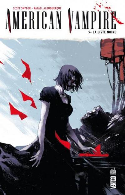 Couverture american vampire tome 5 - la liste noire