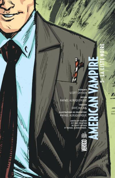 Page 3 american vampire tome 5 - la liste noire