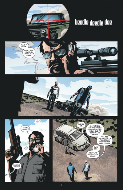 Page 7 Dmz tome 11 - le soulèvement des Etats libres (cartonné)