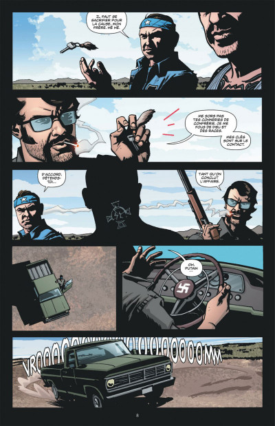 Page 8 Dmz tome 11 - le soulèvement des Etats libres (cartonné)