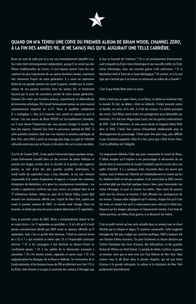 Page 4 Dmz tome 12 - les cinq nations de New-York (cartonné)