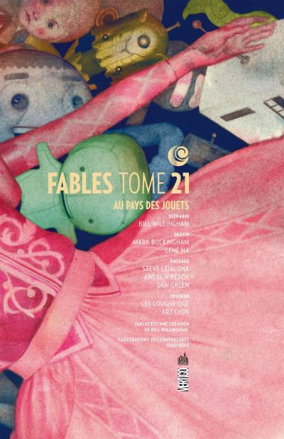 Page 3 fables tome 21 - un monde de jouets (souple)