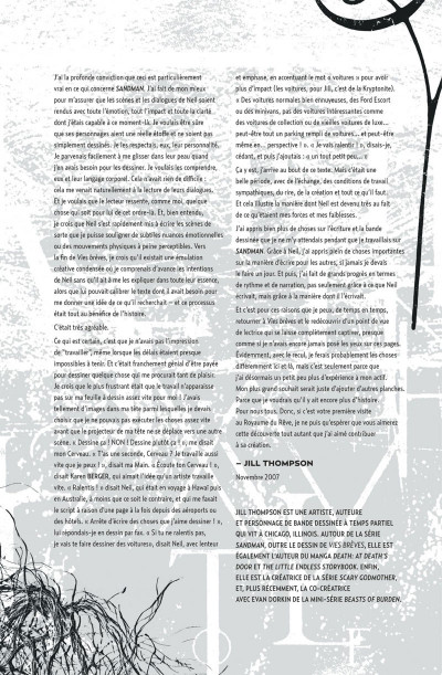 Page 8 Sandman tome 4