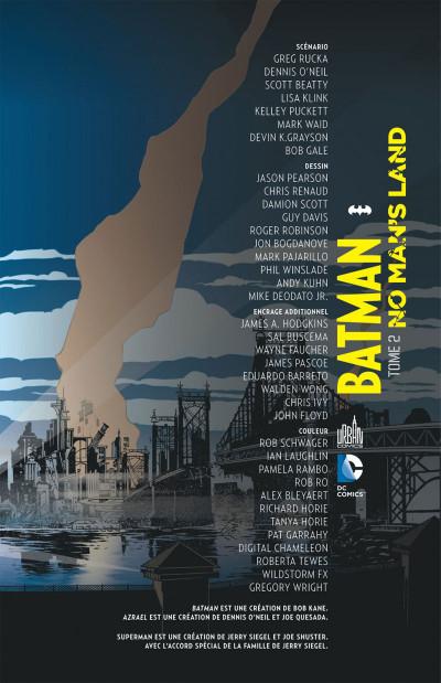 Page 3 batman no man's land tome 2