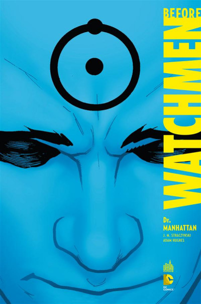 Couverture before watchmen tome 8 - dc deluxe - dr manhattan