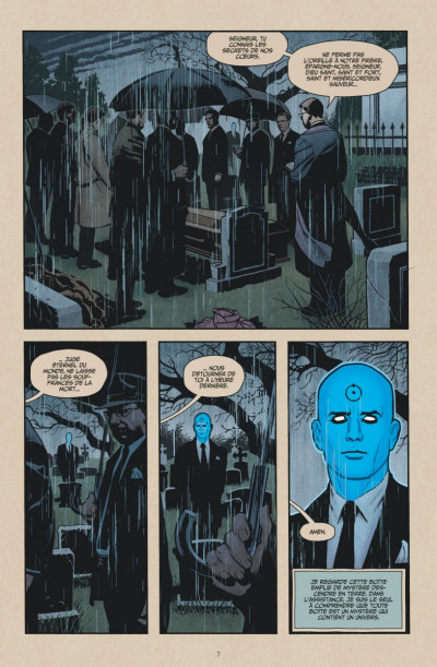 Page 0 before watchmen tome 8 - dc deluxe - dr manhattan