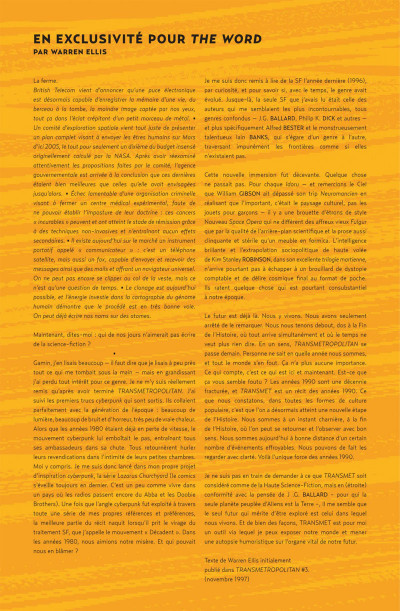 Page 5 Transmetropolitan tome 2