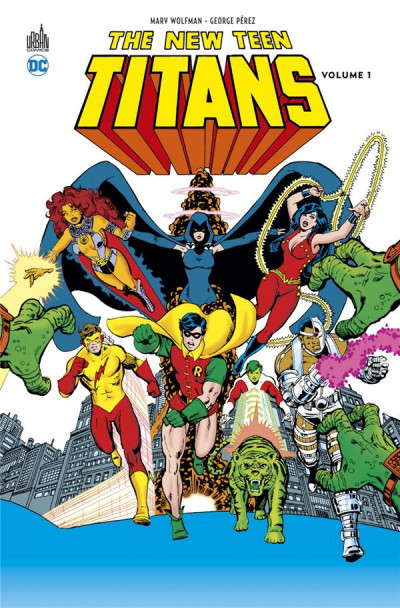 Couverture New teen titans tome 1