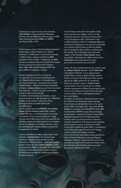 Page 5 les patients d'Arkham