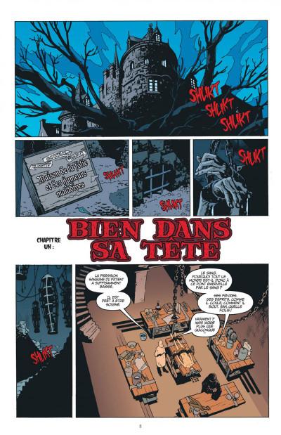 Page 8 les patients d'Arkham