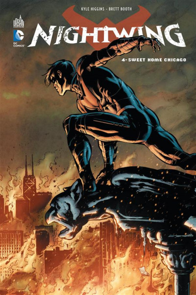 Couverture Nightwing tome 4