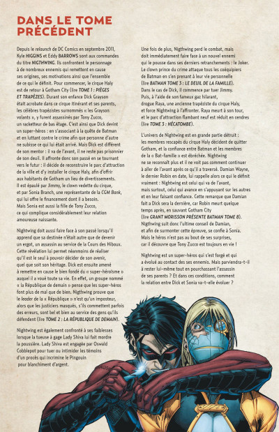 Page 4 Nightwing tome 4