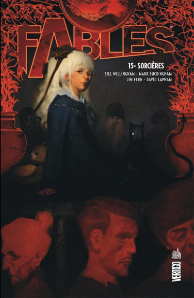 Couverture fables tome 15 - sorcières (cartonné)