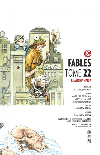 Page 3 fables tome 22 - Blanche-Neige (souple)