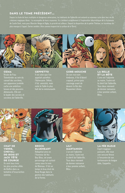 Page 5 fables tome 22 - Blanche-Neige (souple)