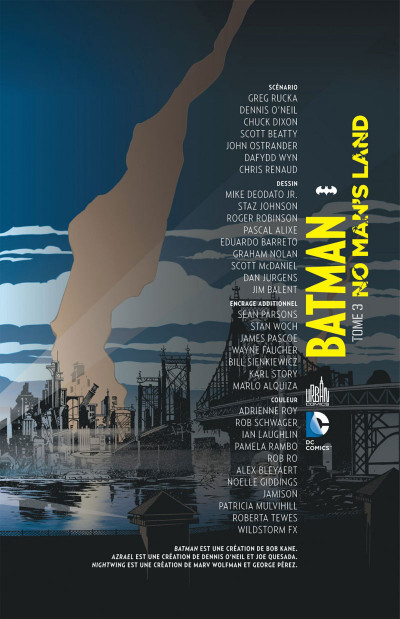 Page 3 batman no man's land tome 3