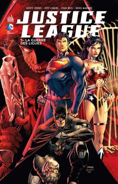 Couverture Justice league tome 5