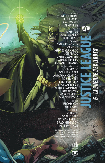 Page 3 Justice league tome 5