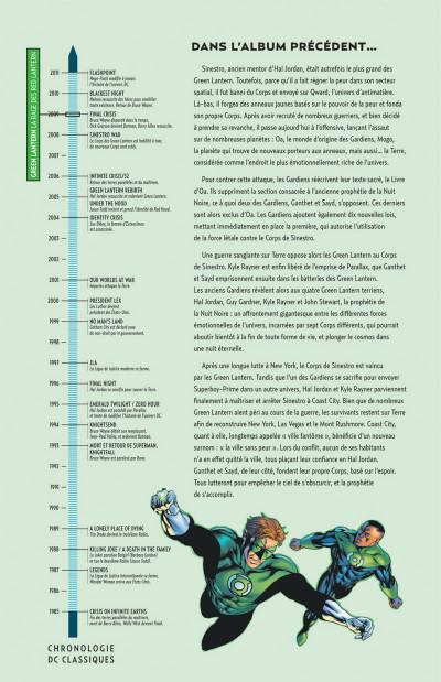 Page 2 Geoff Johns présente Green lantern tome 6